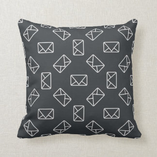 Envelopes Pillows, Square Envelopes Throw Pillows