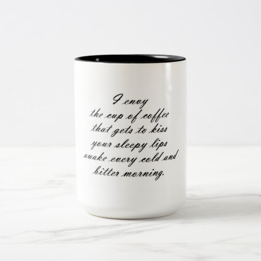 Envie de café mugs