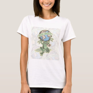 Enviro Frog Gone Green Earthday Gear T-Shirt