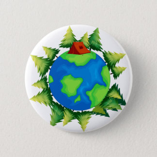 Environment 2 Inch Round Button