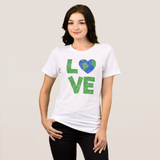 Environment Day / Earth Day Vintage Love Shirt
