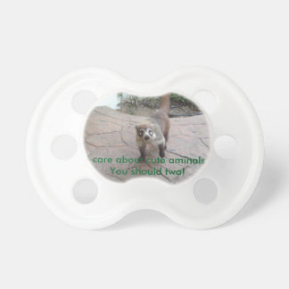 Environmental Awareness - Coatimundi Baby Pacifiers
