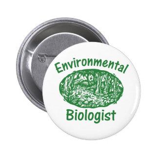 Environmental Biologist Buttons
