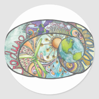 Environmental Design Classic Round Sticker