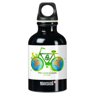 Environmental eco-friendly green bike beer stein