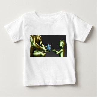 Environmental Friendly Awareness for Children Baby T-Shirt