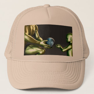 Environmental Friendly Awareness for Children Trucker Hat