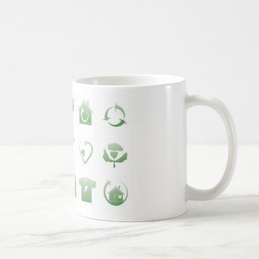 environmental icons 2 coffee mug