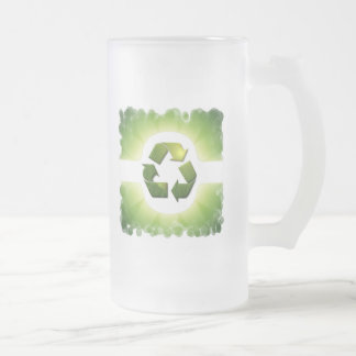 Environmental Issues Frosted Beer Mug