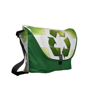 Environmental Issues Messenger Bag