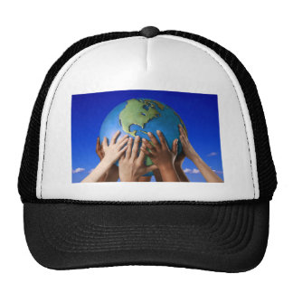 Environmental Issues Save The World Trucker Hat