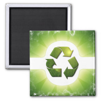 Environmental Issues Square Magnet Magnet