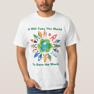 ENVIRONMENTAL ISSUES T-SHIRT