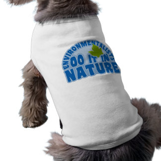 Environmentalists pet clothing