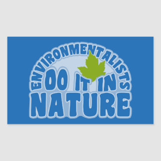 Environmentalists stickers