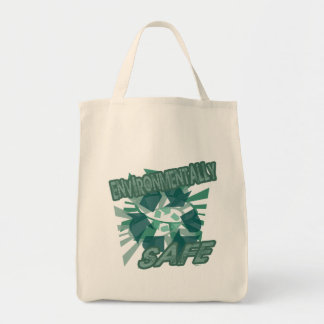 Environmentally Safe Grocery Tote Bag