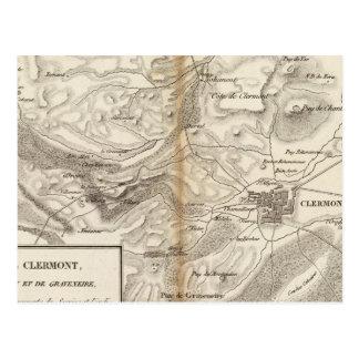 Environs de Clermont Postcard