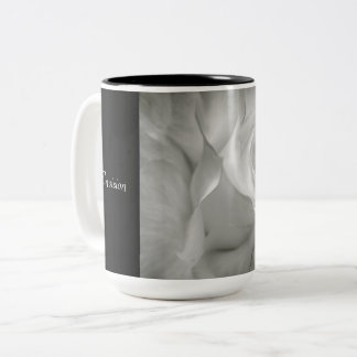 Envision Elegance Two-Tone Coffee Mug