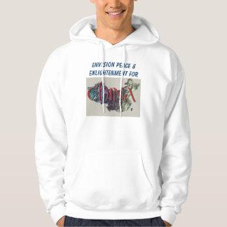 Envision Peace mens hoodie