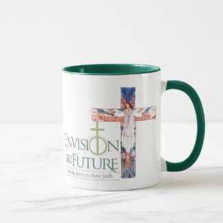 Envision w/ Cross, Grace Cafe 2 Mug