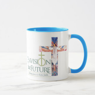 Envision w Cross, Grace Cafe 3 Mug