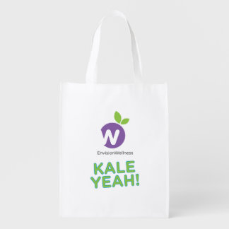 Envision Wellness: Kale Yeah Reusable Grocery Bag