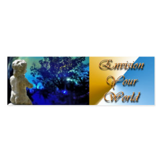 Envision Your World Double-Sided Mini Business Cards (Pack Of 20)