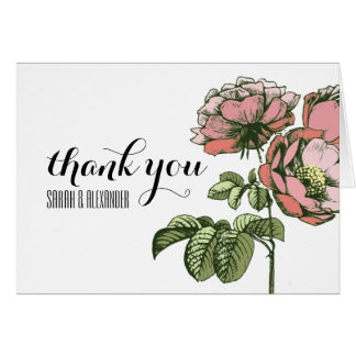 Envoi des roses et des notes de floraison de Merci