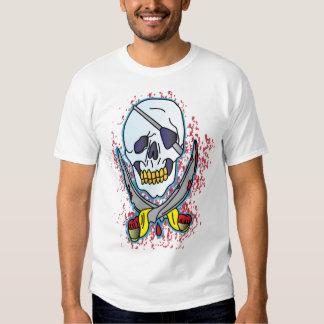 Envy Skull with Crossed sword Tee