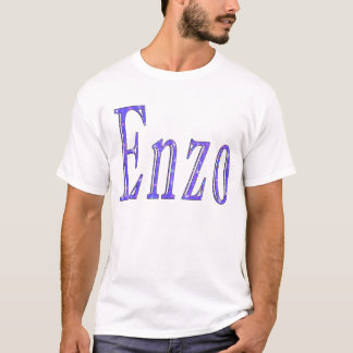 Enzo, Name, logo, T-Shirt
