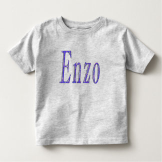 Enzo, Name, logo, Toddler T-shirt