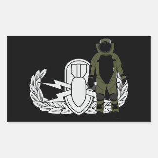 EOD Bomb Suit Sticker