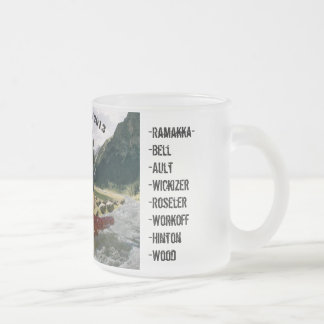 EOD Camp Manas 2013 Frosted Glass Coffee Mug