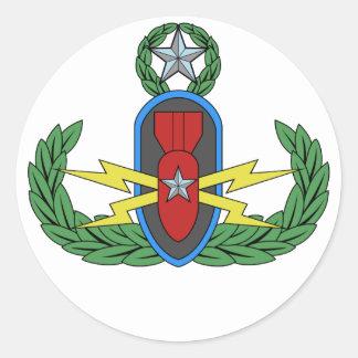 EOD Master Badge Stickers