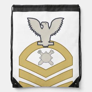 EOD Master Chief Drawstring Bags