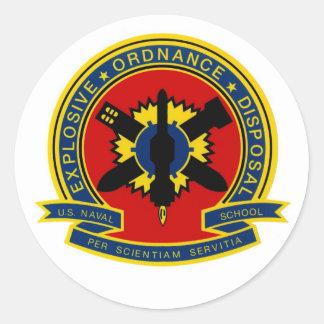 EOD School Classic Round Sticker