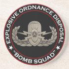 "EOD Senior ""Bomb Squad"" Coaster"