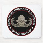 """EOD Senior """"Bomb Squad"""" Mouse Pad"""