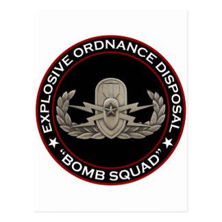 "EOD Senior ""Bomb Squad"" Post Card"