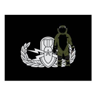 EOD Senior Bomb Suit Post Cards