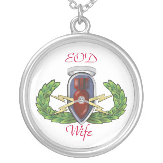 EOD Wife Silver Plated Necklace