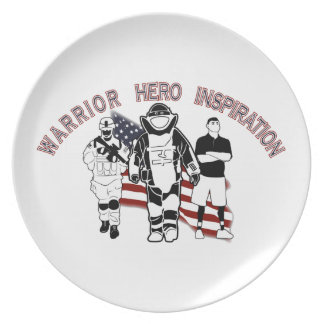EOD Wounded Warrior Plates