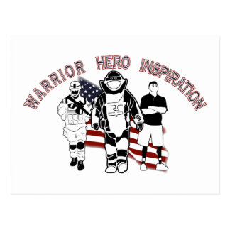 EOD Wounded Warrior Postcard