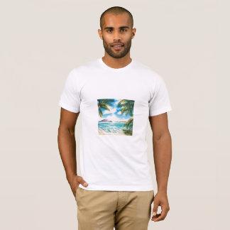 """""""Eon Isle: Morning Shore"""" Men's  T-Shirt"""