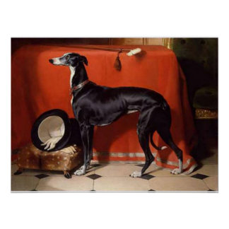 Eos, A Favorite Greyhound of Prince Albert Poster