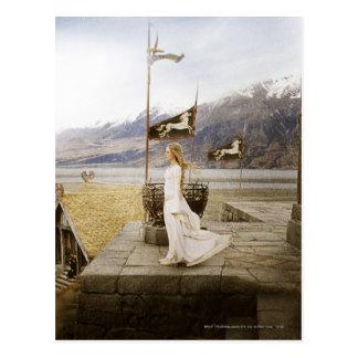 Eowyn on Castle Steps Postcard