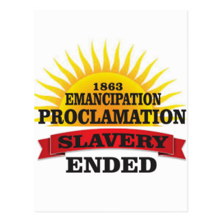 ep ended slavery postcard