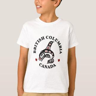 Épaulard du nord-ouest d'art de Haida de Côte T-shirt