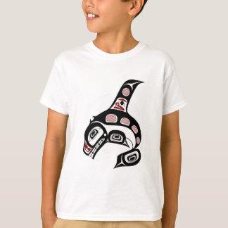 Épaulard du nord-ouest d'art de Haida de Côte T-shirts