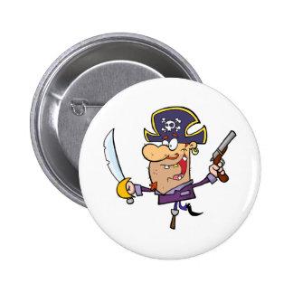Épée et arme à feu de Brandshing de pirate Badges